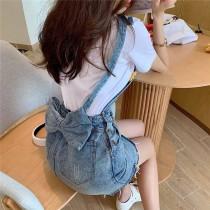 獨家超可愛蝴蝶結牛仔裙【每週3收單】