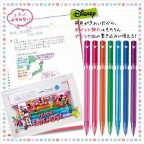 日本三菱UNI 迪士尼彩色自動筆組0.5mm【10/19收單】