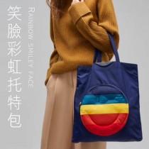 笑臉彩虹托特手提包【10/14收單】