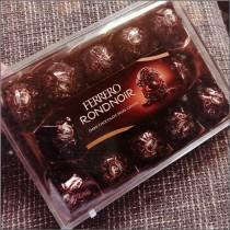 義大利 FERRERO RONDNOIR 金莎黑巧克力14入【少量現貨】
