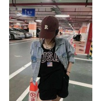 韓妞USA配色背心套裝【每週3收單】